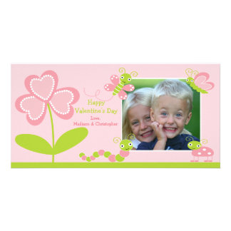 Love Bugs Valentine's Day Photo Greeting Card