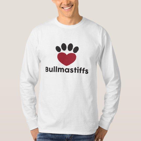 Love Bullmastiffs T-Shirt