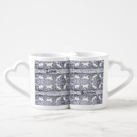 Love Bunnies Coffee Mug Set