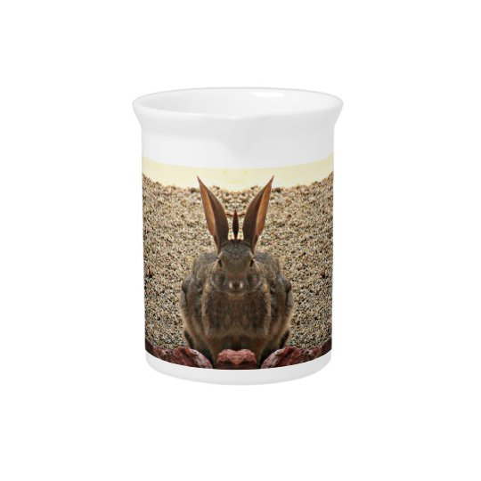 Love Bunny Porcelain Pitcher