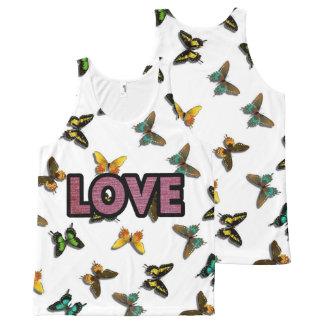 Love - Butterflies Background