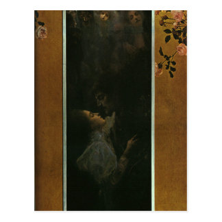 Love by Gustav Klimt Postcard