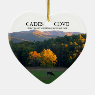 Love Cades Cove Christmas Ornament