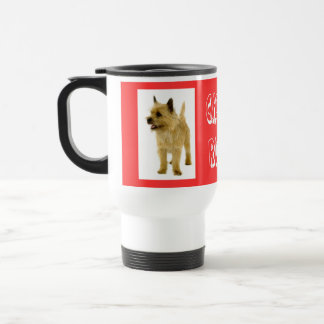 Love Cairn Terrier Puppy Dog  Coffee Travel Mug