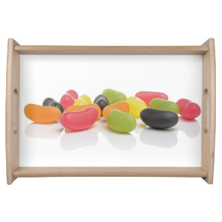 Love Candis Sweets Colorful Jelly Beans Serving Tray