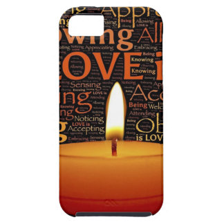 Love, Candle quote Case For The iPhone 5