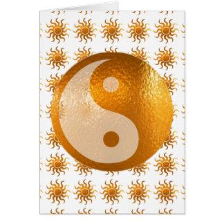 LOVE Care Sun Energy n YIN YANG Balance Greeting Cards