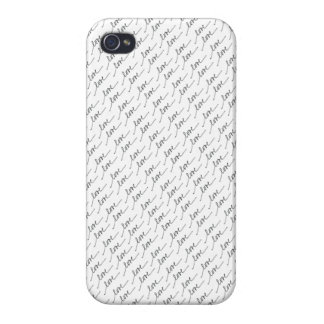 Love Cases For iPhone 4
