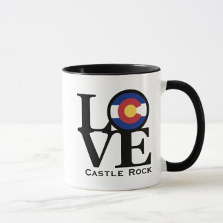 LOVE Castle Rock Colorado Mug