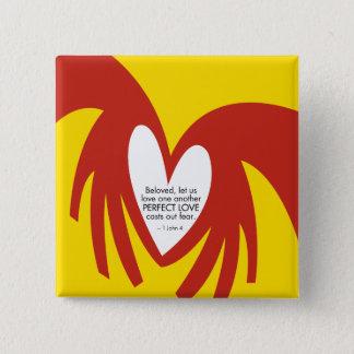 Love Casts Out Fear Button