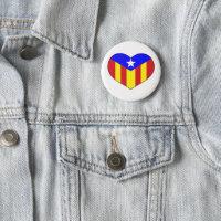 Love Catalan Style Button