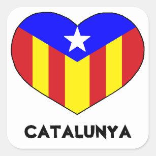 Love Catalan Style Sticker