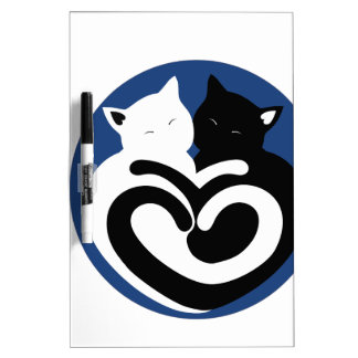 LOVE CATS DRY ERASE BOARD