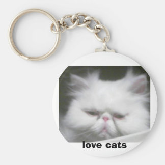 LOVE CATS KEYCHAIN