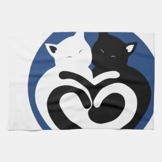 LOVE CATS KITCHEN TOWEL