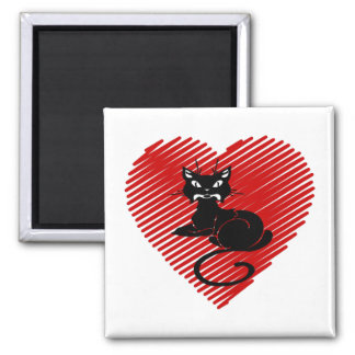 Love Cats Magnet