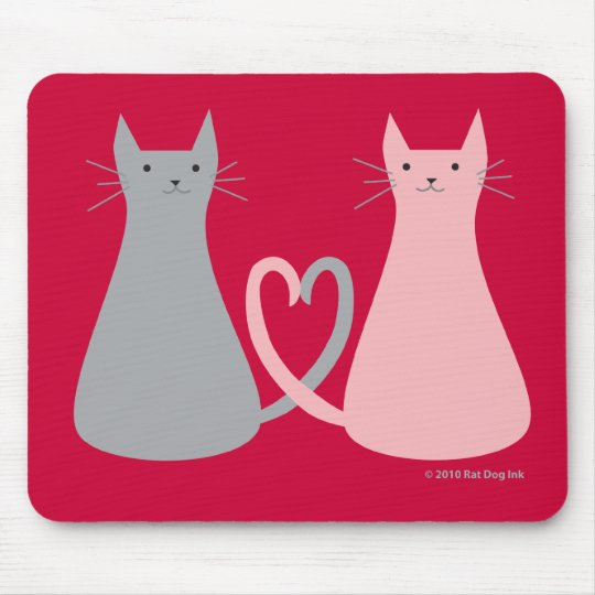 Love Cats Mouse Pad