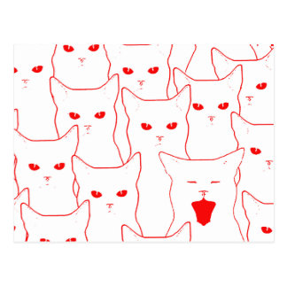 Love Cats Postcard