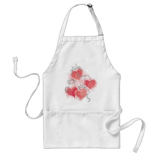 Love Cats Standard Apron
