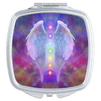 Love,chakra,angel,god,healer,healing,yoga,heal,yog Makeup Mirrors
