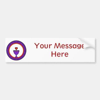 Love Chalice Customizable Bumper Sticker