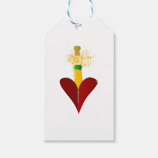 Love Champagne Gift Tags