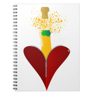 Love Champagne Notebook