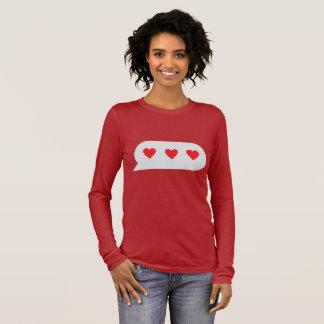 Love Chatting Long Sleeve T-Shirt