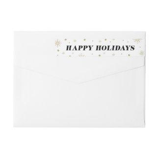 Love & Cheer | Holiday Return Address Labels