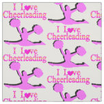 LOVE CHEERLEADING FABRIC