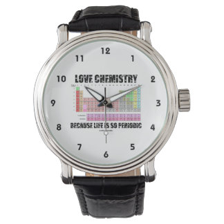 Love Chemistry Because Life Is So Periodic (Humor) Watch