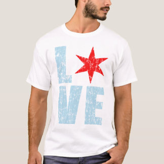 Love Chicago t shirt