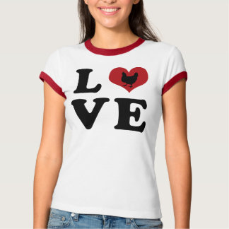 LOVE - Chickens T-Shirt