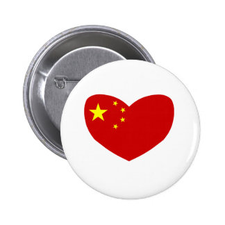 Love China Pinback Button