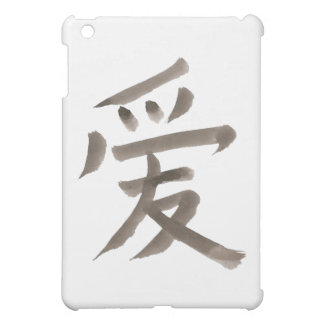 love, Chinese word Case For The iPad Mini