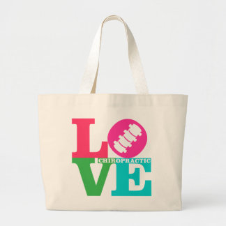 LOVE Chiropractic {Colors} Tote Bag