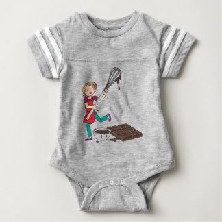 Love Chocolate Baby Bodysuit