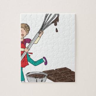 Love Chocolate Jigsaw Puzzle