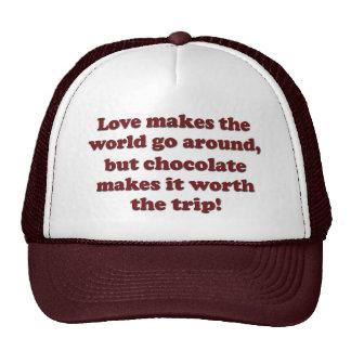 Love Chocolate Trucker Hat