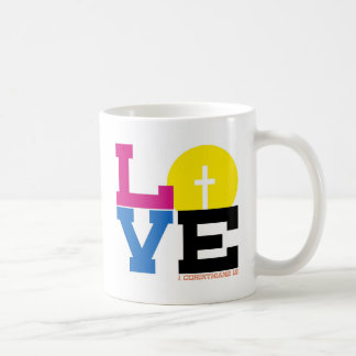 Love Classic White Coffee Mug