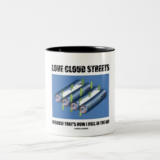 Love Cloud Streets Because That's How I Roll Air Coffee Mugs