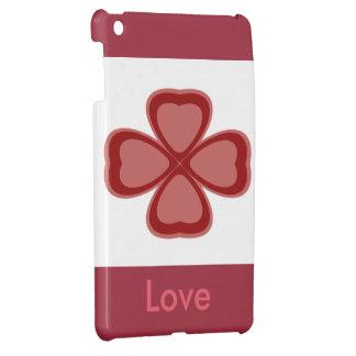 Love Clover I Pad Mini Case Case For The iPad Mini
