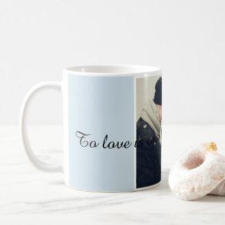 Love coffe mug