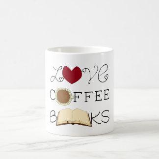 Love, Coffee, Books Coffee Mug