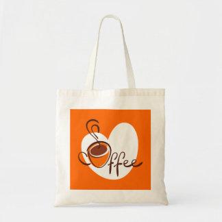 Love Coffee Budget Tote Bag