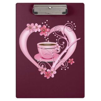 Love Coffee Clipboard