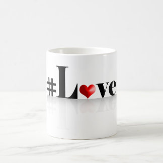 #Love Coffee Mug