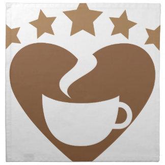Love coffee napkin