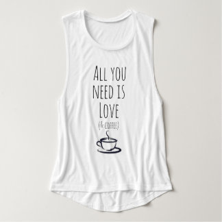 Love & Coffee Tank Top
