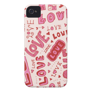 Love Collage iPhone 4 Case-Mate Cases